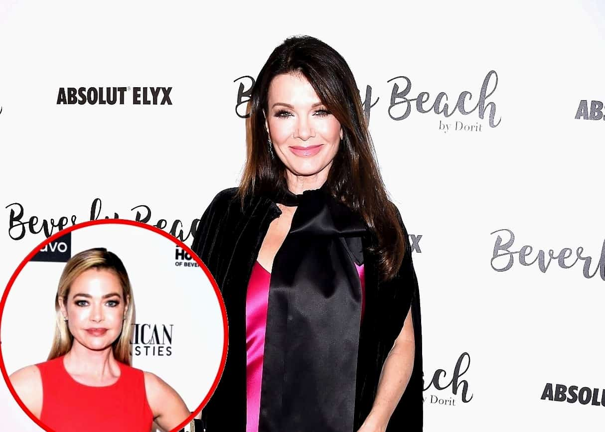 Lisa Vanderpump Reveals Where She Stands With Denise Richards