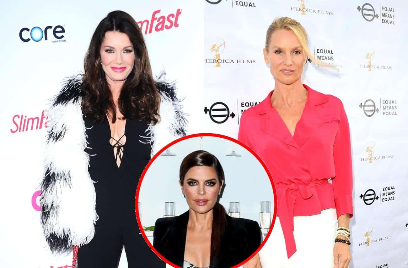 Could Lisa Vanderpump and Nicollette Sheridan Team Up Against Lisa Rinna and RHOBH Cast in New Season? See Their Tweets!