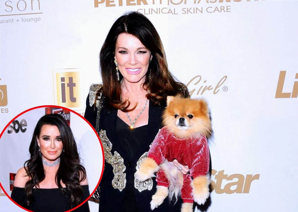 "Ex RHOBH Star Lisa Vanderpump Reacts to Fan Suggesting the ""Crown"" Belongs to Kyle Richards and Reveals If She's Watching New Season, Plus She Reveals Stepson Was Diagnosed With COVID-19"