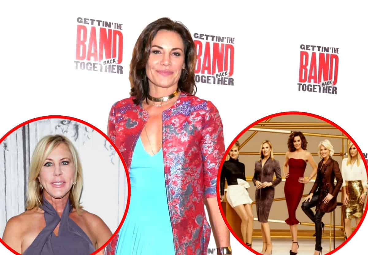 "Luann de Lesseps Reacts to Vicki Gunvalson's Demotion on RHOC, Feels ""Attacked"" by RHONY Costars Over Claims She's Not Sober"