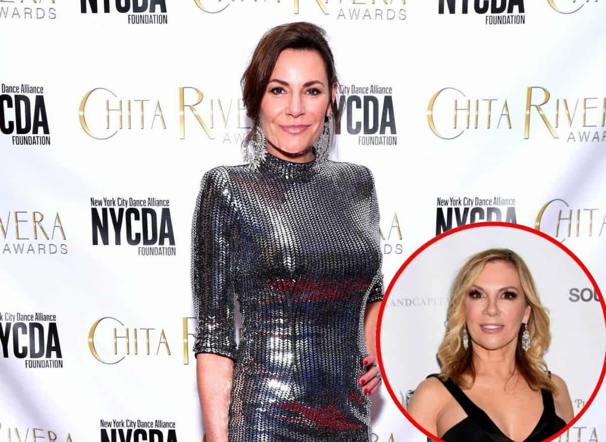 "RHONY Star Luann de Lesseps Calls Ramona Singer ""Hateful,"" Responds to Her Accusations of ""Drinking on the Side"""