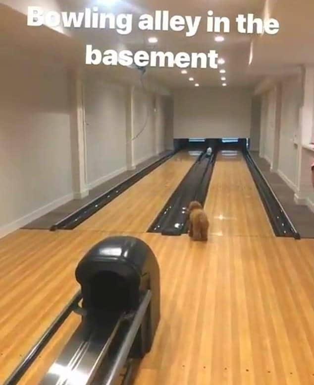 RHOC Meghan King Edmonds Bowling Alley