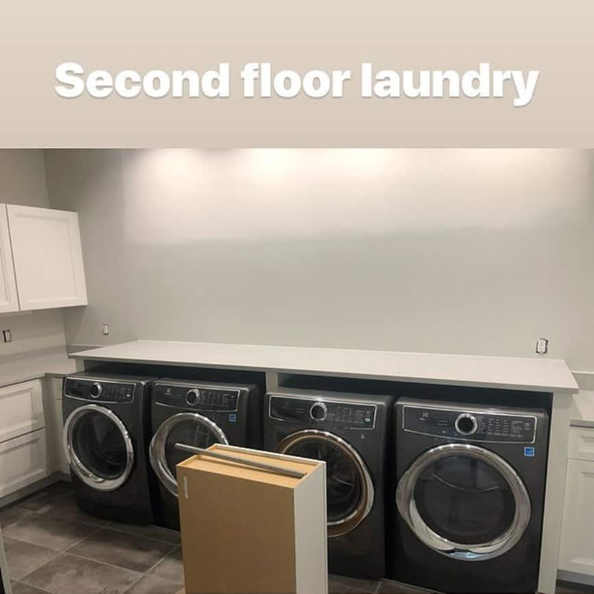 Meghan King Edmonds New Home Laundry Room