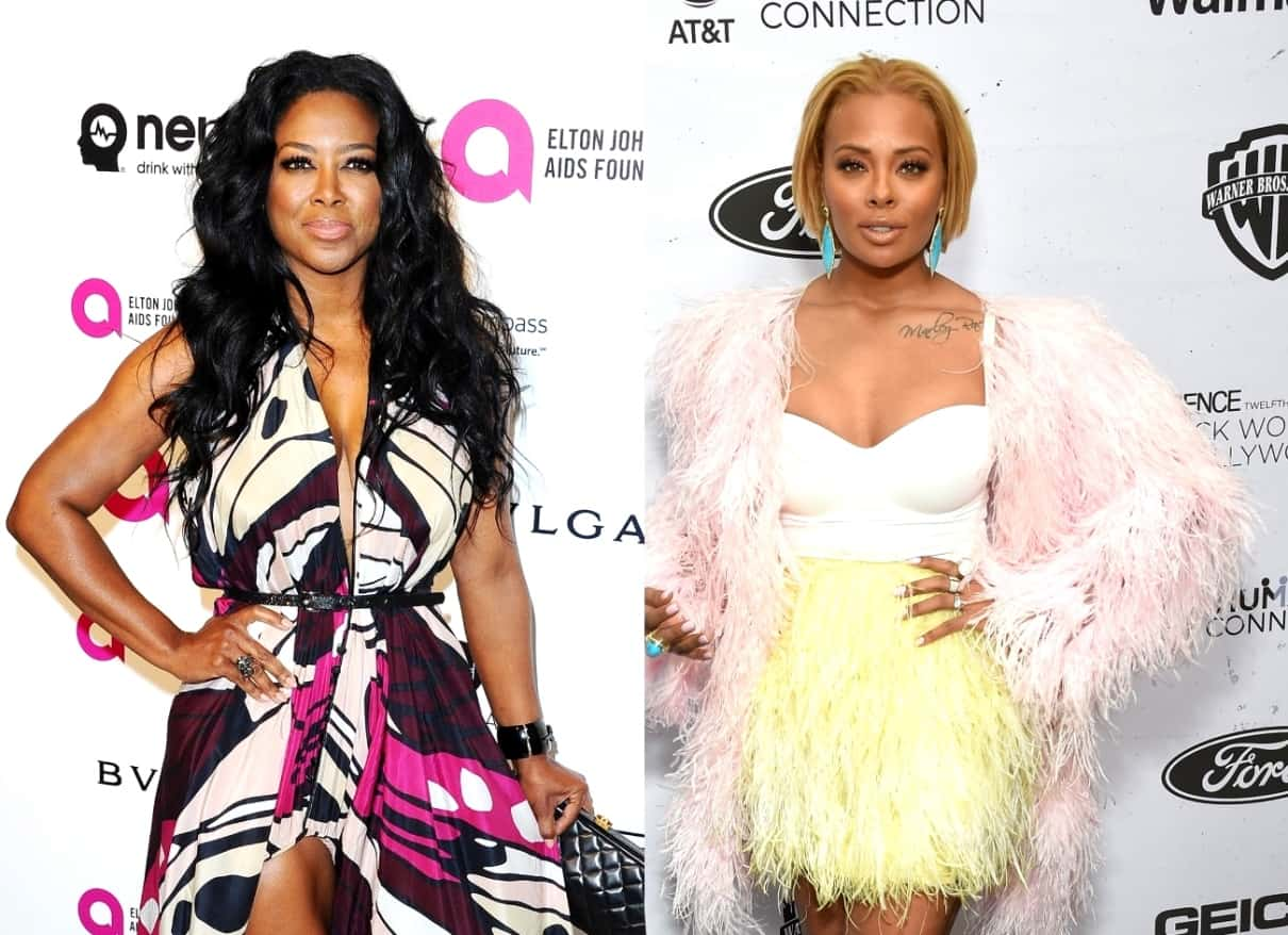 Kenya Moore and Eva Marcille are Feuding Amid Filming on RHOA! Get Details About Their Drama Following Kenya's Return