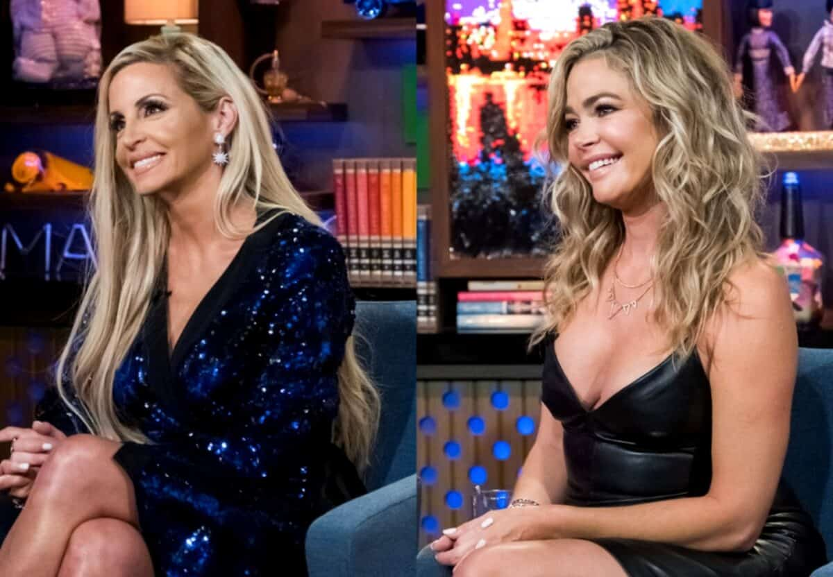 Camille Grammer Suggests Denise Richards Didn't 'Work as Hard' as Her in Feud Over Their Divorces, Clarifies Her Comments on Twitter