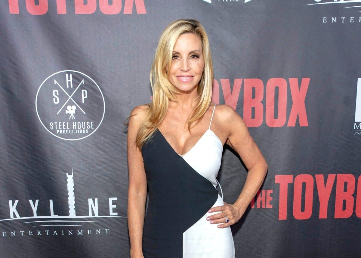 Details of Camille Grammer's Controversial 'Meltdown' at RHOBH Reunion Revealed