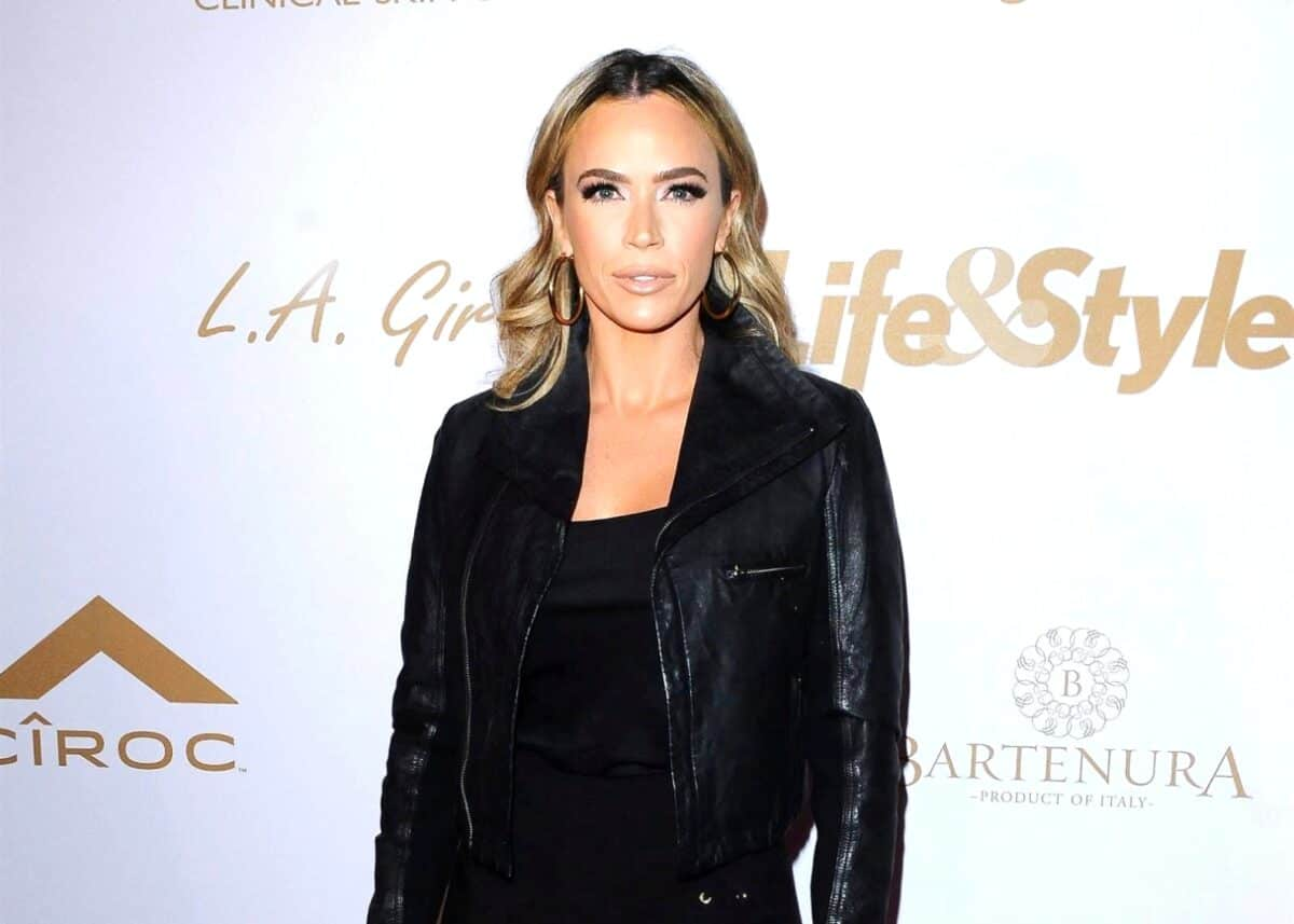"RHOBH's Teddi Mellencamp Responds to Backlash About Diet Program, Claims She's ""Incredibly Proud"" of All In and Explains Her Certifications After Being Accused of Promoting a ""Starvation Diet"" and ""Unsafe Workouts"""