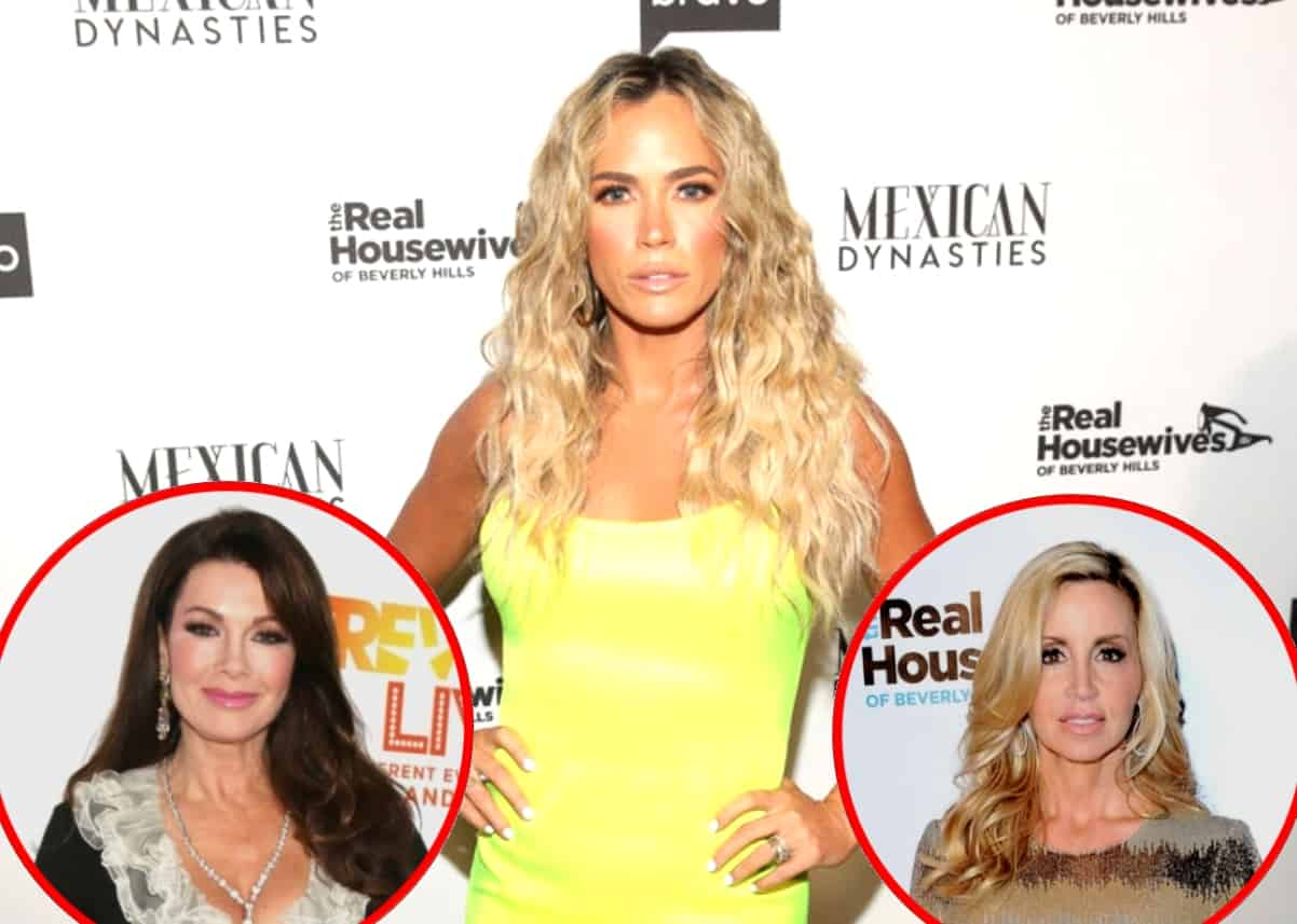 RHOBH's Teddi Mellencamp Questions Lisa and Camille's Friendship, Shares More Text Messages From John Blizzard and Reveals Her Season 9 Regrets