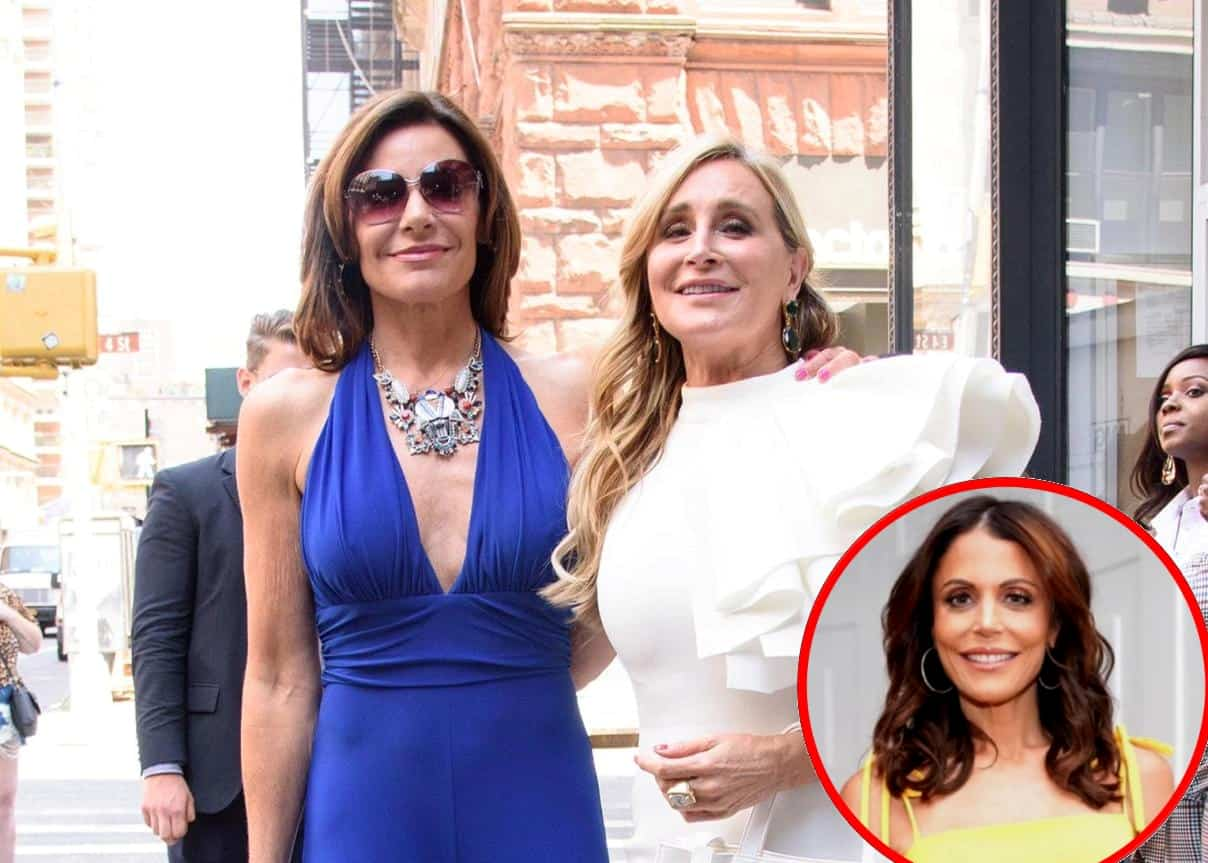 RHONY's LuAnn de Lesseps and Sonja Morgan React Badly After Bethenny Frankel is Credited for Saving the Show