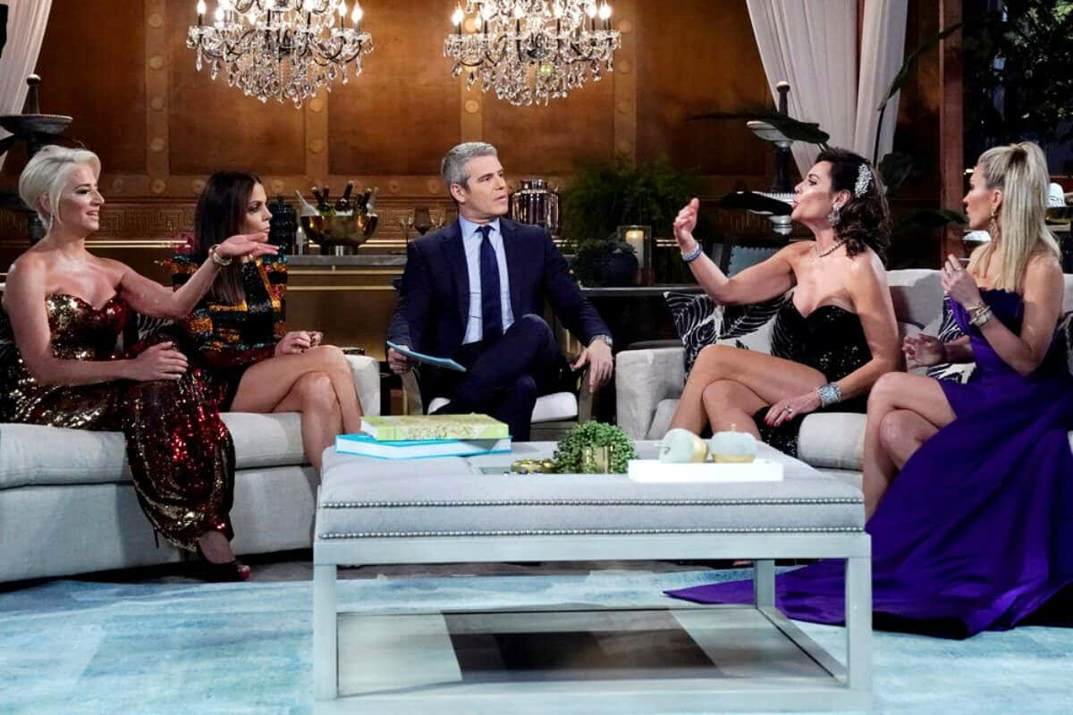 The Real Housewives of New York Reunion Part 1 Recap: Luann and Dorinda Hash Things Out