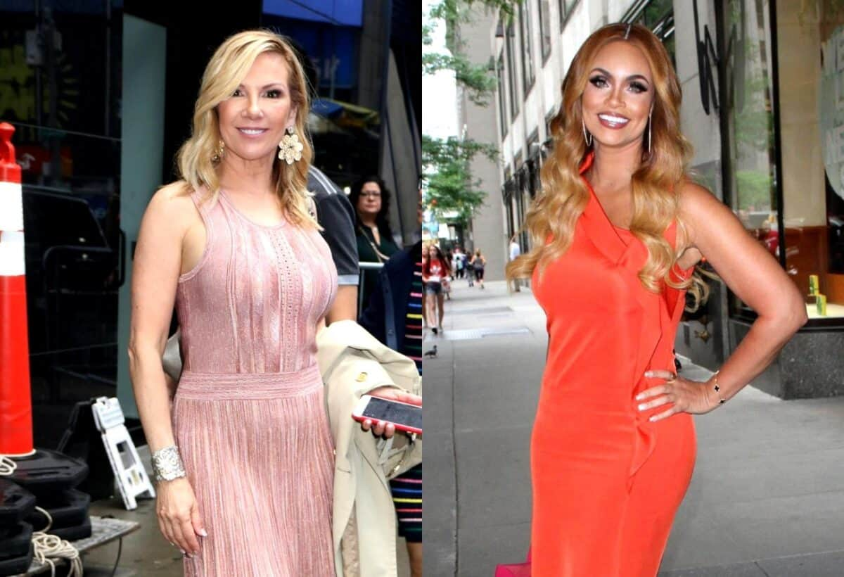 VIDEO: RHONY's Ramona Singer Snubs RHOP's Gizelle Bryant While Taking Pictures at Hamptons Event