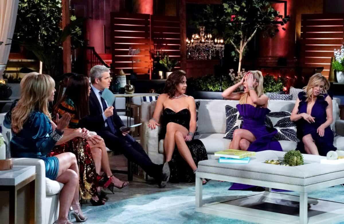 RHONY Reunion Recap Part 2: Ramona Gets Called Out for Lying and Luann Denies Drinking on the Side