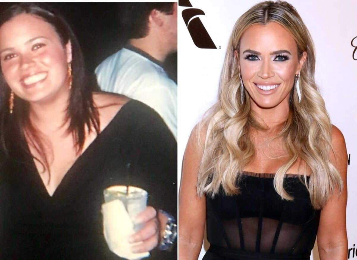 PHOTOS: RHOBH's Teddi Mellencamp Shares Before and After Pics of Her Weight Loss, Reveals She Once Weighed Over 200 Pounds