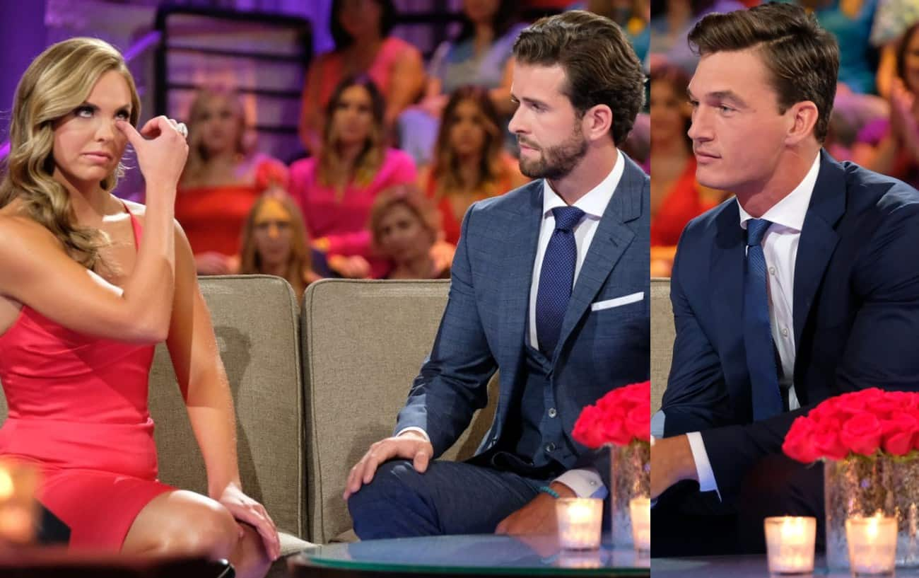 The Bachelorette Hannah Brown Dumps Fiancé Jed After Finding Out He Had a Girlfriend and Asks Runner Up Tyler Out