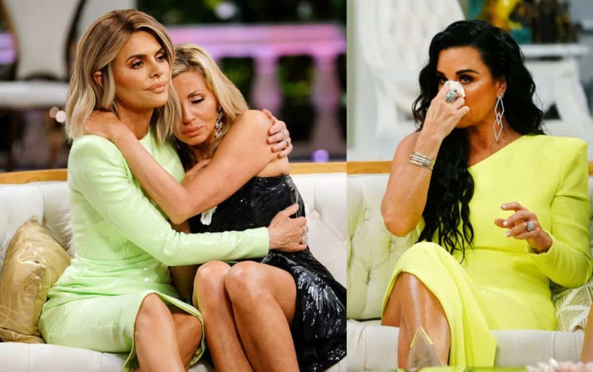 The Real Housewives of Beverly Hills Reunion Recap: Camille Grammer Has a Breakdown and Kyle Cries Over End of Friendship With Lisa