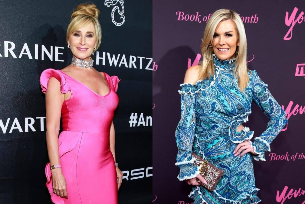 VIDEO: RHONY's Sonja Morgan and Tinsley Mortimer Caught Fighting at NYC Pride Event, Watch Their Wild Screaming Match!