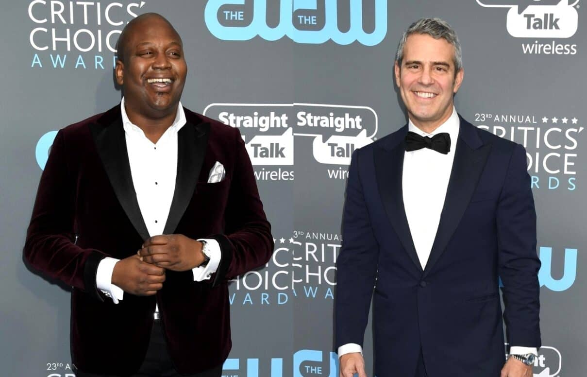 "Andy Cohen Responds After Tituss Burgess Blasts Him as 'Unprofessional' and a ""Messy Queen"" in Scathing Post Following Awkward WWHL Appearance"