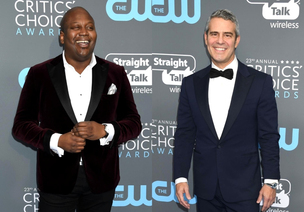 "Andy Cohen Responds After Tituss Burgess Blasts Him 'Unprofessional' and a ""Messy Queen"" in Scathing Post Following Awkward WWHL Appearance"