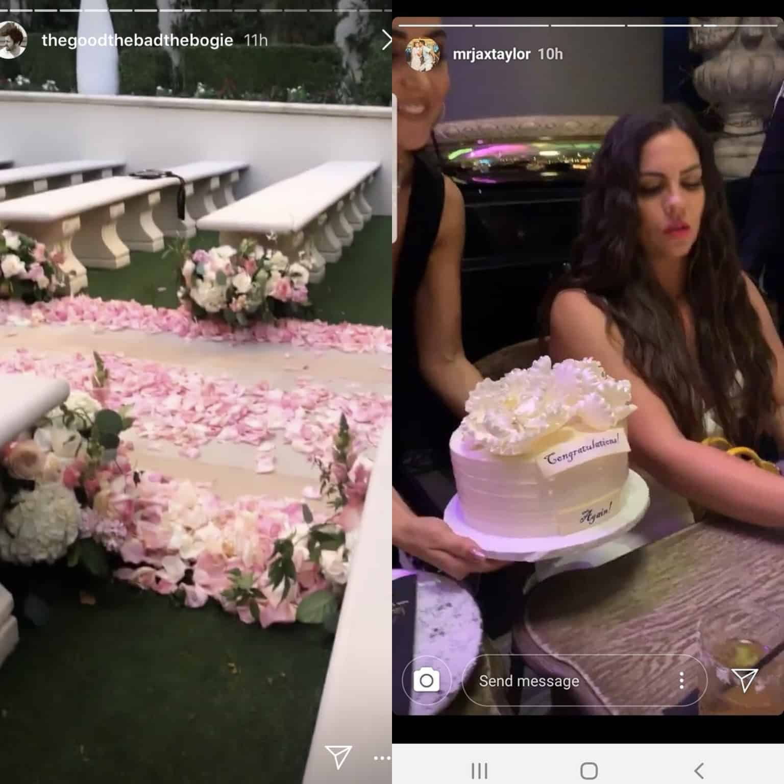 Vanderpump Rules Katie Maloney and Tom Schwartz Las Vegas Wedding Photos