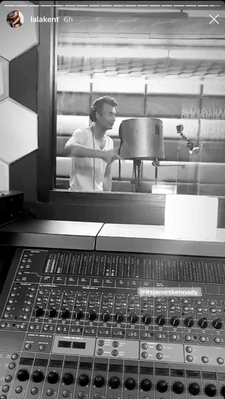 Vanderpump Rules Lala Kent Reunites With James Kennedy in the Studio