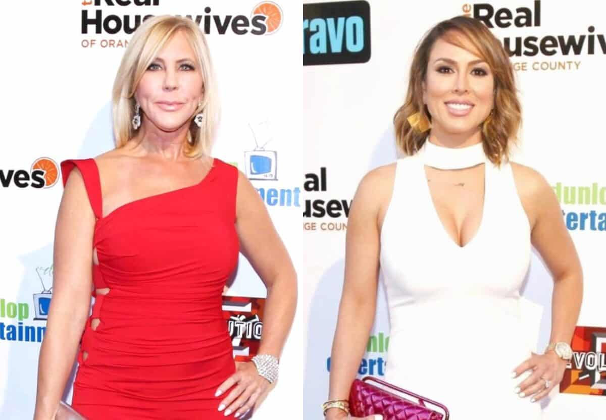 REPORT: Vicki Gunvalson and Kelly Dodd Involved in 'Epic Feud' at RHOC Reunion Taping Following Vicki's Defamation Lawsuit