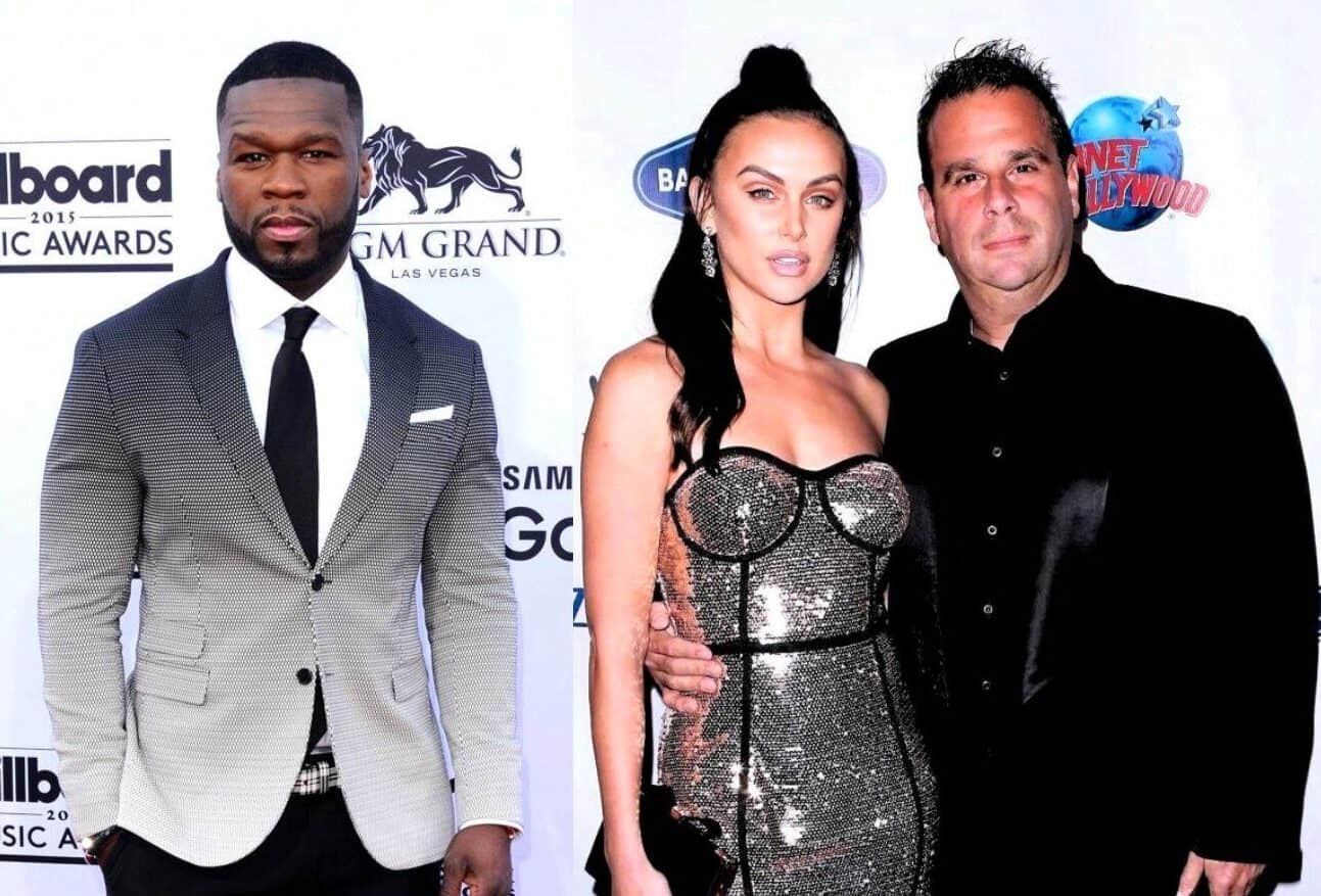 "50 Cent Slams Vanderpump Rules Star Lala Kent's Fiancé Randall Emmett for Allegedly Failing to Pay Writers Nearly $500,000, Claims ""Nobody Wants to Work"" With the Producer as He's Put on the Writer's Guild's Strike List"