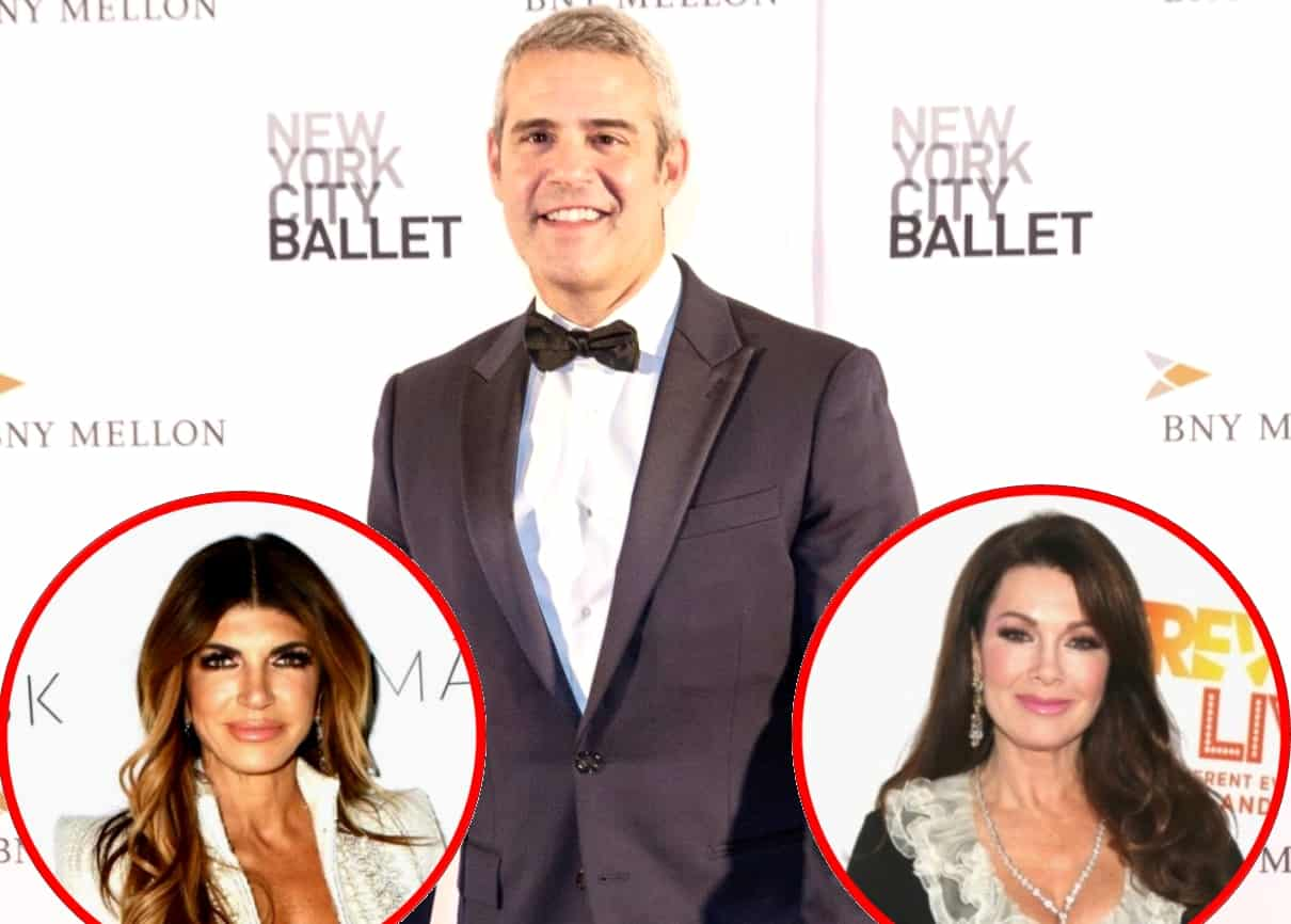Andy Cohen Reacts to Teresa Giudice's Comment About Not Enjoying Filming on RHONJ, Reveals Why the RHOBH Will Survive Without Lisa Vanderpump