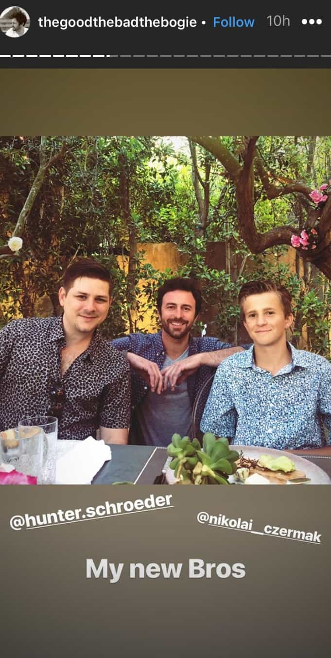 Vanderpump Rules Beau Clark Poses With New Bros After Engagement