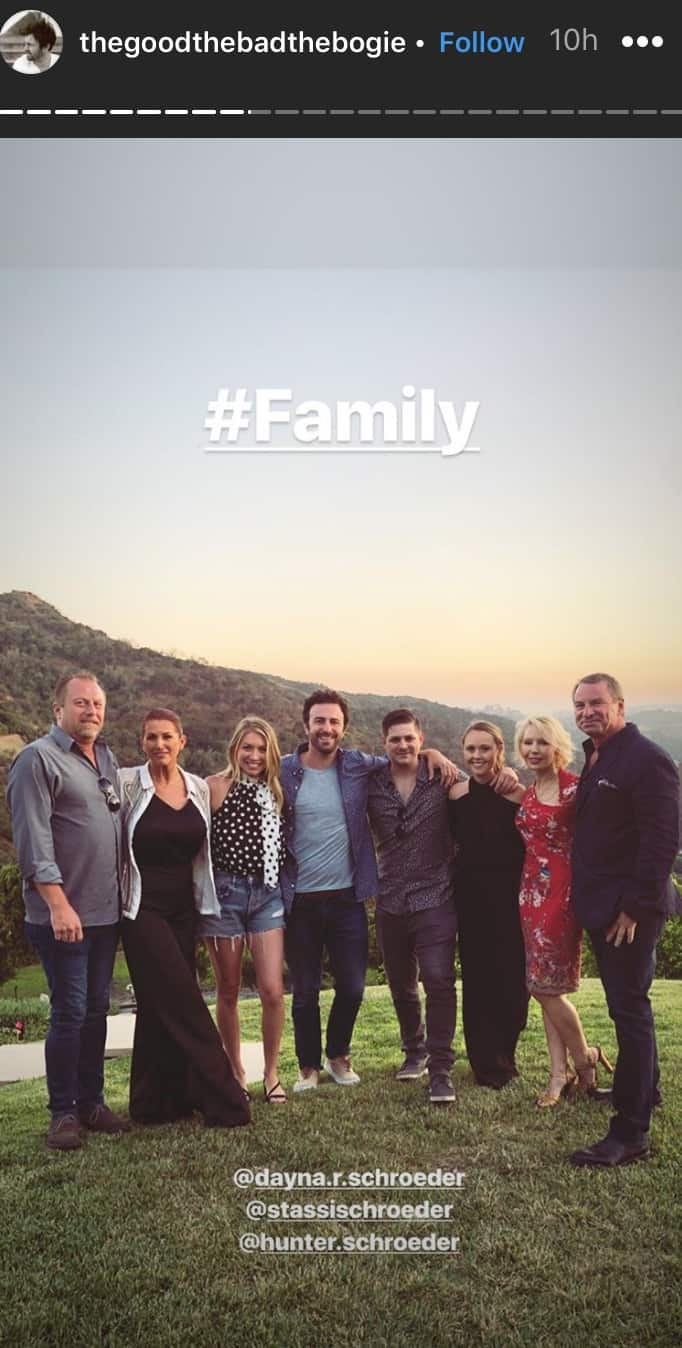 Vanderpump Rules Beau Clark Shares Family Photo After Engagement