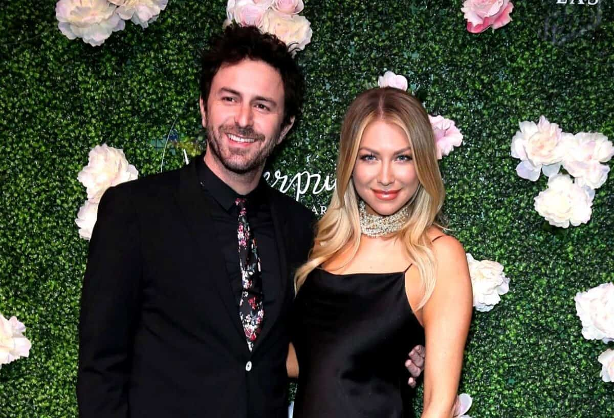 "PHOTOS: Pregnant Stassi Schroeder Debuts Baby Bump in Outing With Fiancé Beau Clark, Plus Source Claims She's ""Devastated"" Over Vanderpump Rules Firing as She and Kristen Doute ""Support"" Each Other"