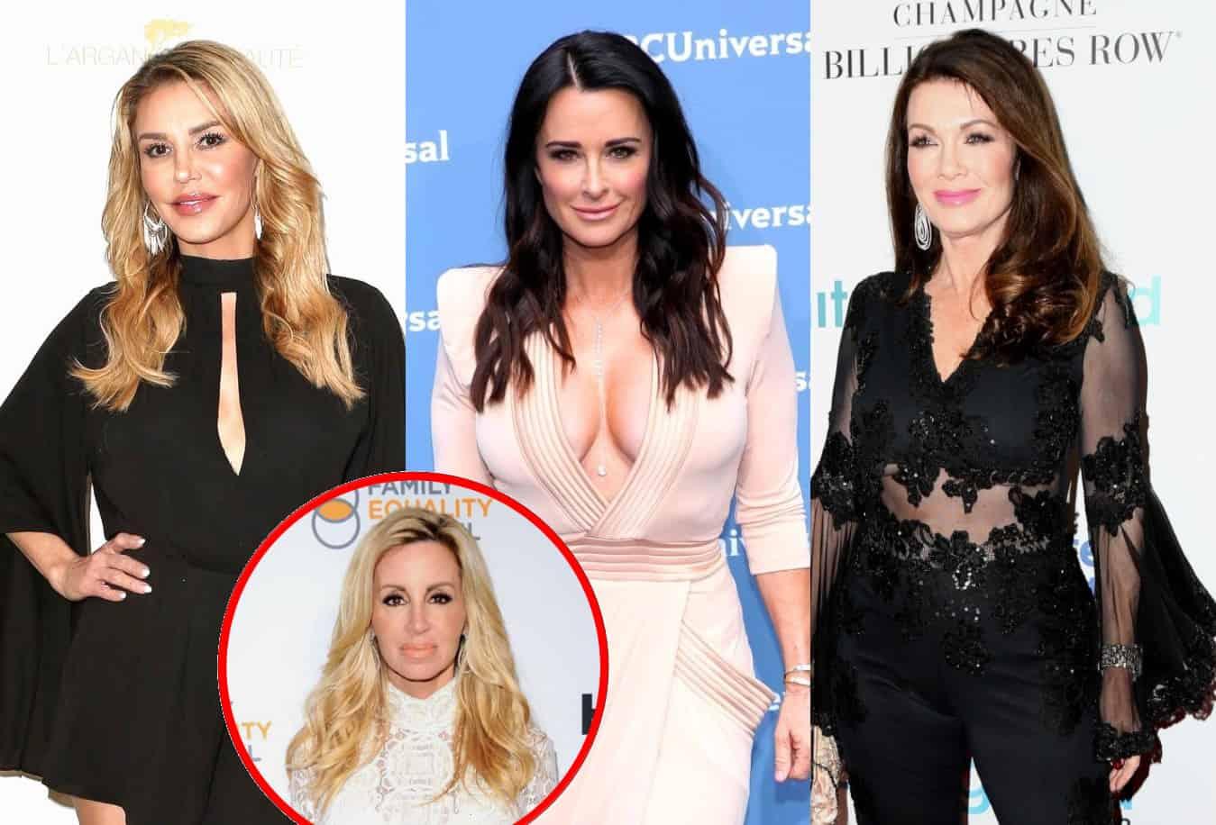 Brandi Glanville Denies Kyle Richards Brought Her Back to RHOBH to Spark Drama With Lisa Vanderpump, Blasts Camille Grammer