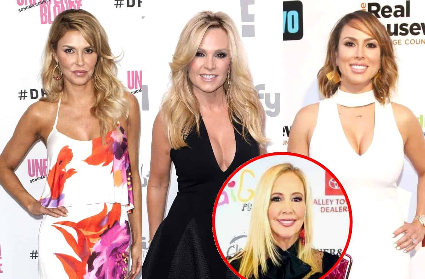 "Brandi Glanville Claps Back at Tamra Judge After Tamra Calls Kelly Dodd ""The New Brandi,"" Plus Shannon and Tamra Defend Themselves Amid 'Train' Backlash"