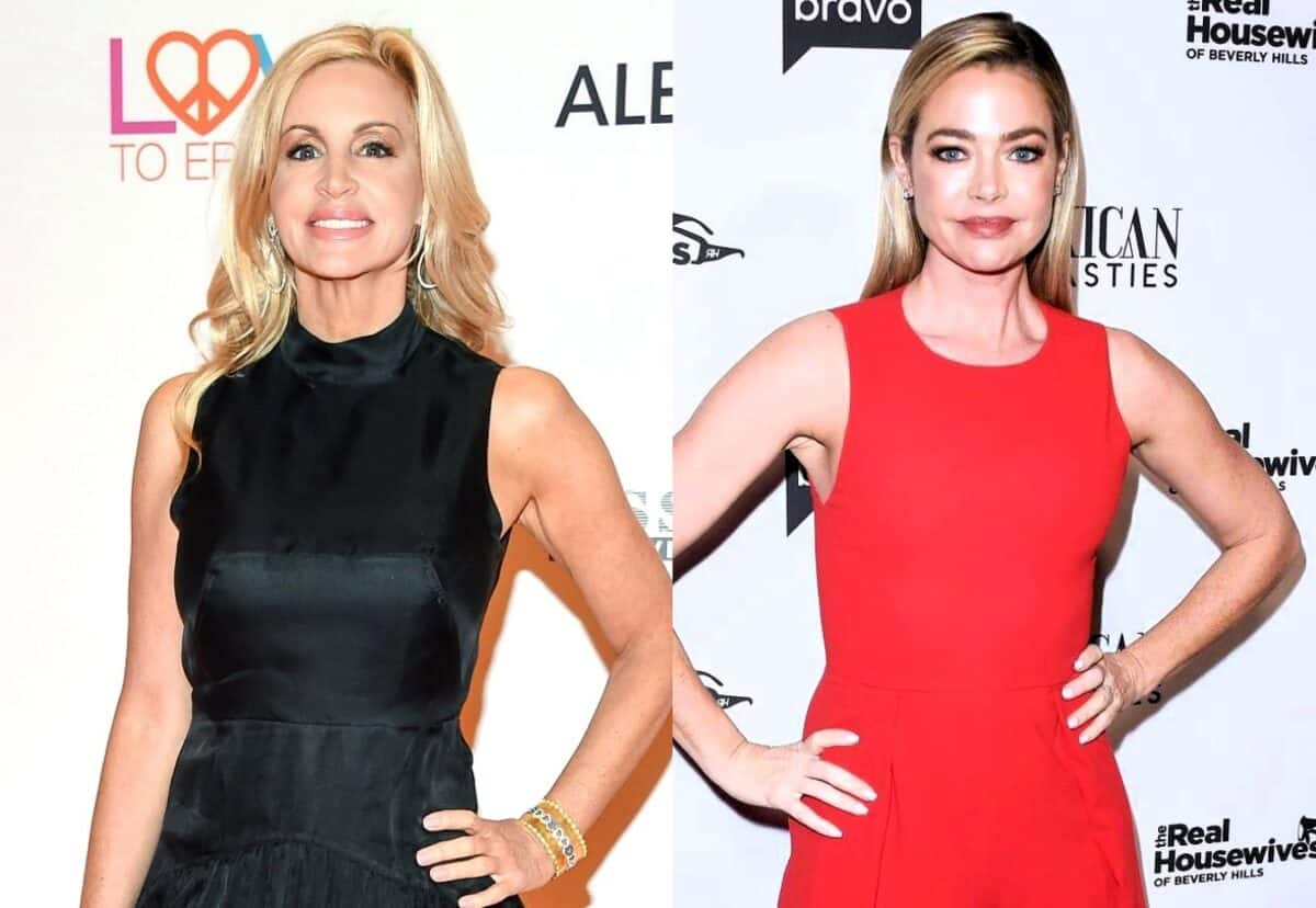 Camille Grammer Calls Out Denise Richards for Asking Her to Lunch After Suggesting She Made Racist Comments at RHOBH Reunion