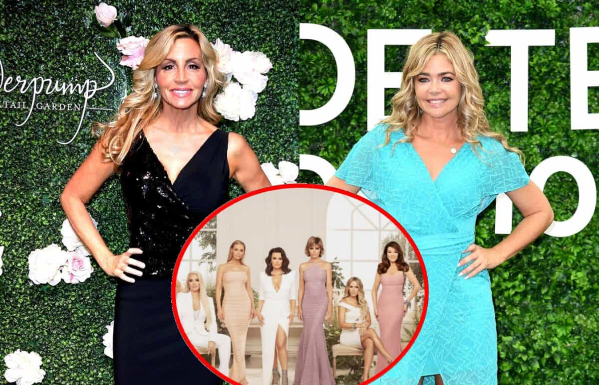 Camille Grammer Suggests Denise Richards Was 'on Something' During WWHL Episode and Slams RHOBH Co-Stars as 'Hypocrites,' Plus Does She Still Talk to Lisa Vanderpump?