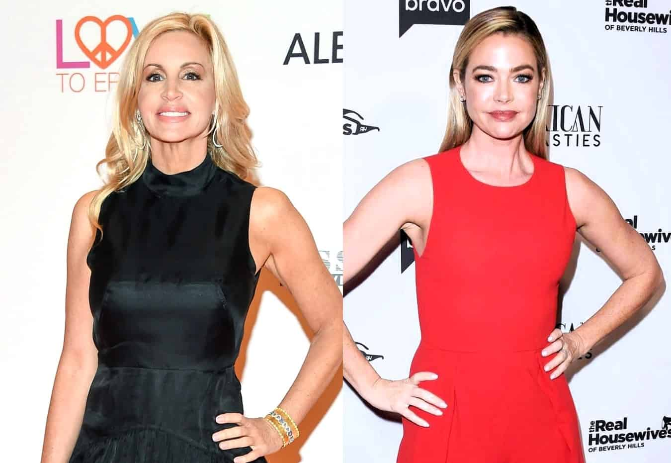 Camille Grammer Clarifies the Comment She Made About Race at RHOBH Reunion and Calls Out Denise Richards for Asking Her to Lunch After Suggesting She Made Racist Comments