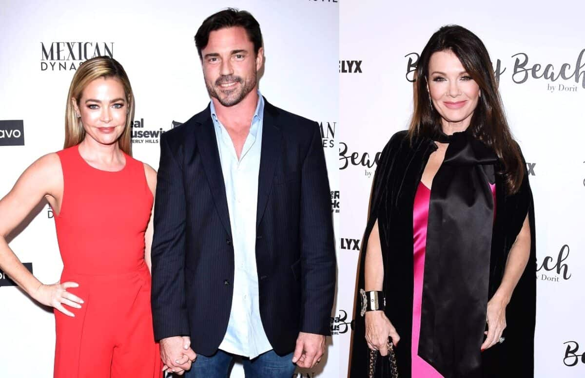 PHOTO: RHOBH's Denise Richards and Husband Aaron Phypers Visit TomTom After Feud With Lisa Vanderpump, Are They Trying to Make Amends?