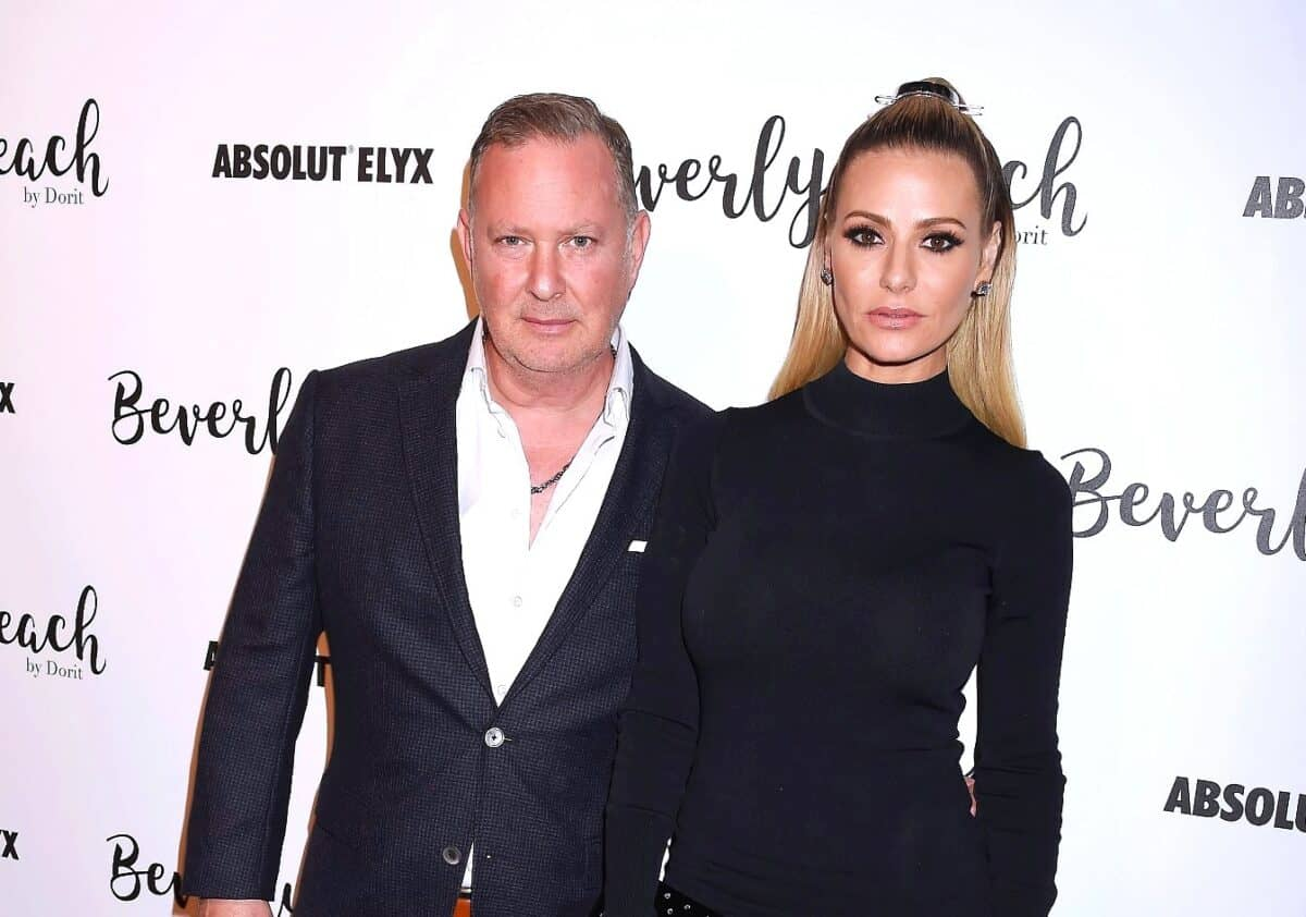 RHOBH Star Dorit Kemsley's Husband PK Tries to Block Their Assets From Being Seized as Creditor Attempts to Collect $1.2 Million
