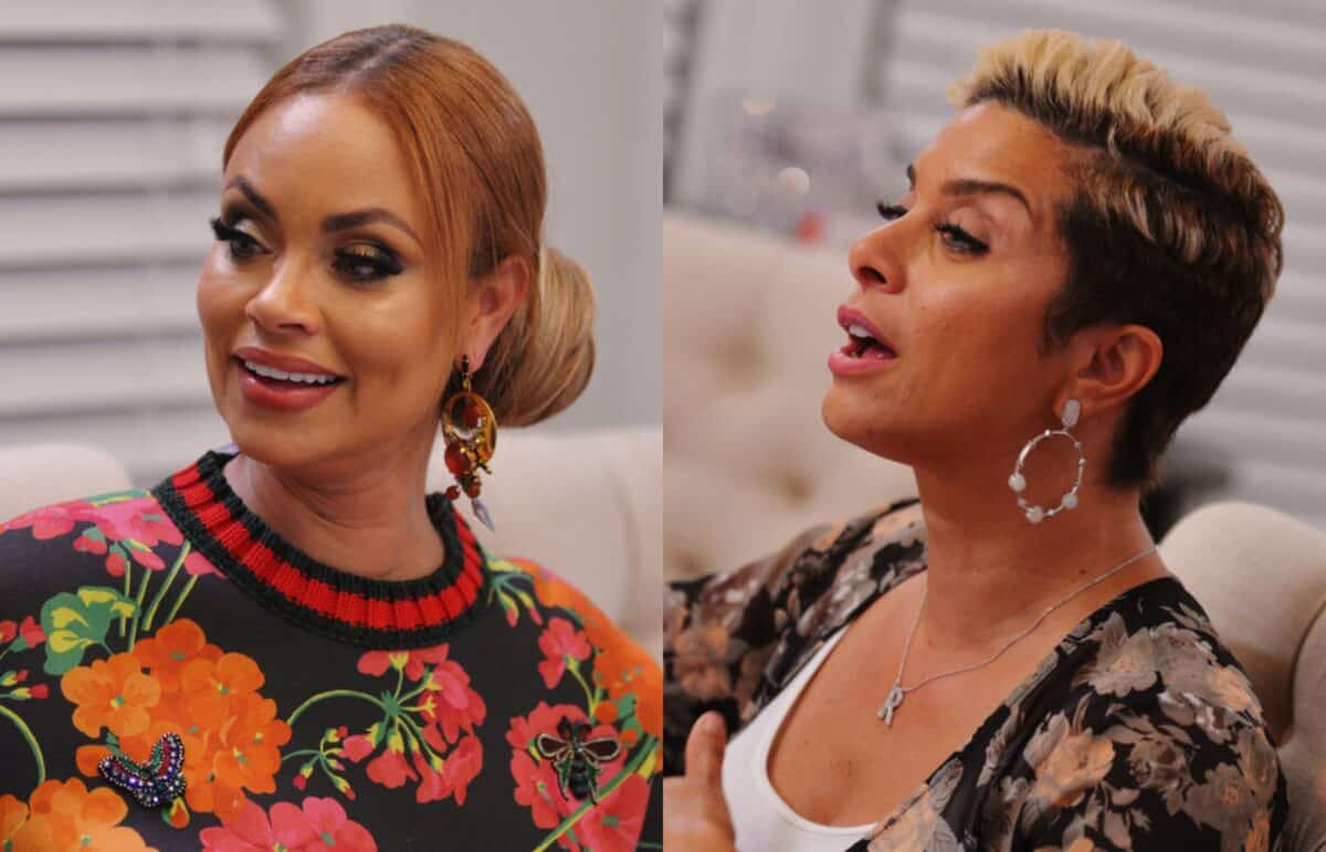 RHOP Star Gizelle Bryant Reacts After Robyn Dixon Calls Her Out for Open House Behavior, Plus Why Gizelle Doesn't Believe Karen Owns Perfume Line