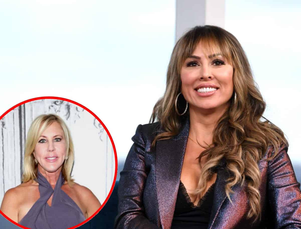 RHOC Star Kelly Dodd Denies 'Train' Rumor and Says She's Never Even Had a Threesome, Deems Vicki Gunvalson a 'Liar'