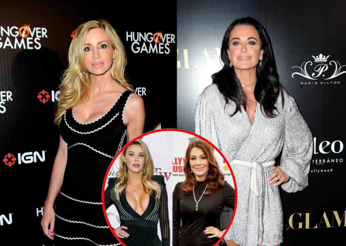 RHOBH's Camille Grammer Believes Kyle Richards Only Wants Brandi Around to Irritate Lisa, Reveals Why She Has Turned Against Kyle