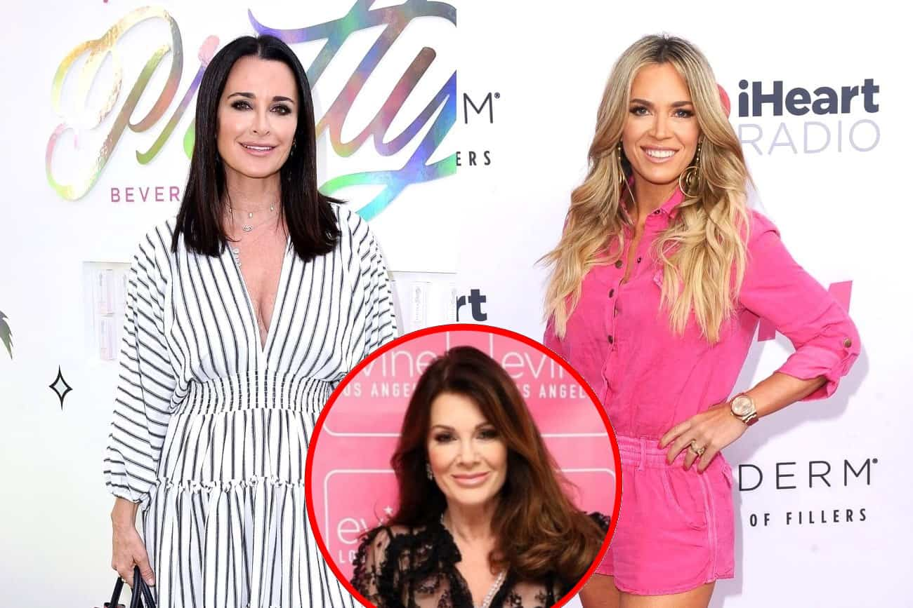 How Do Teddi Mellencamp and Kyle Richards Feel About Petition to Have Them Fired From RHOBH? Plus Find Out Where They Stand With Lisa Vanderpump