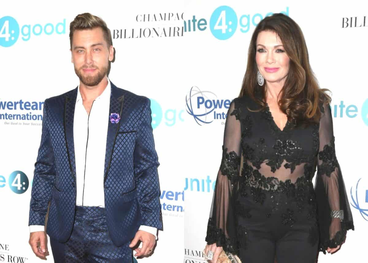 Lance Bass Says He Tried to Get RHOB's Lisa Vanderpump to Leave the Show for Years