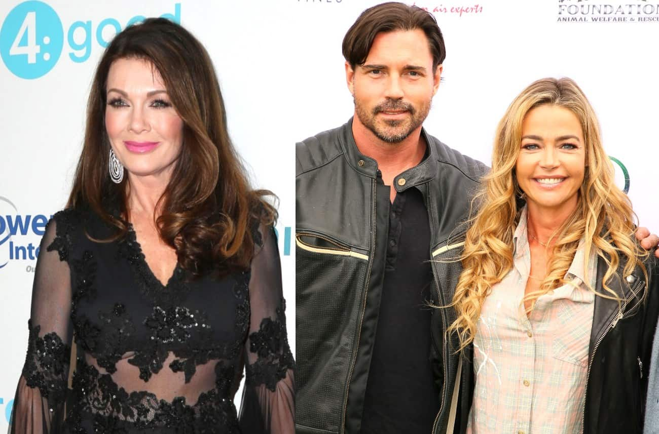 RHOBH's Lisa Vanderpump Reacts to Denise Richards and Husband Aaron Phypers' TomTom Visit After Feud, Does She Believe They're Trolling Her?