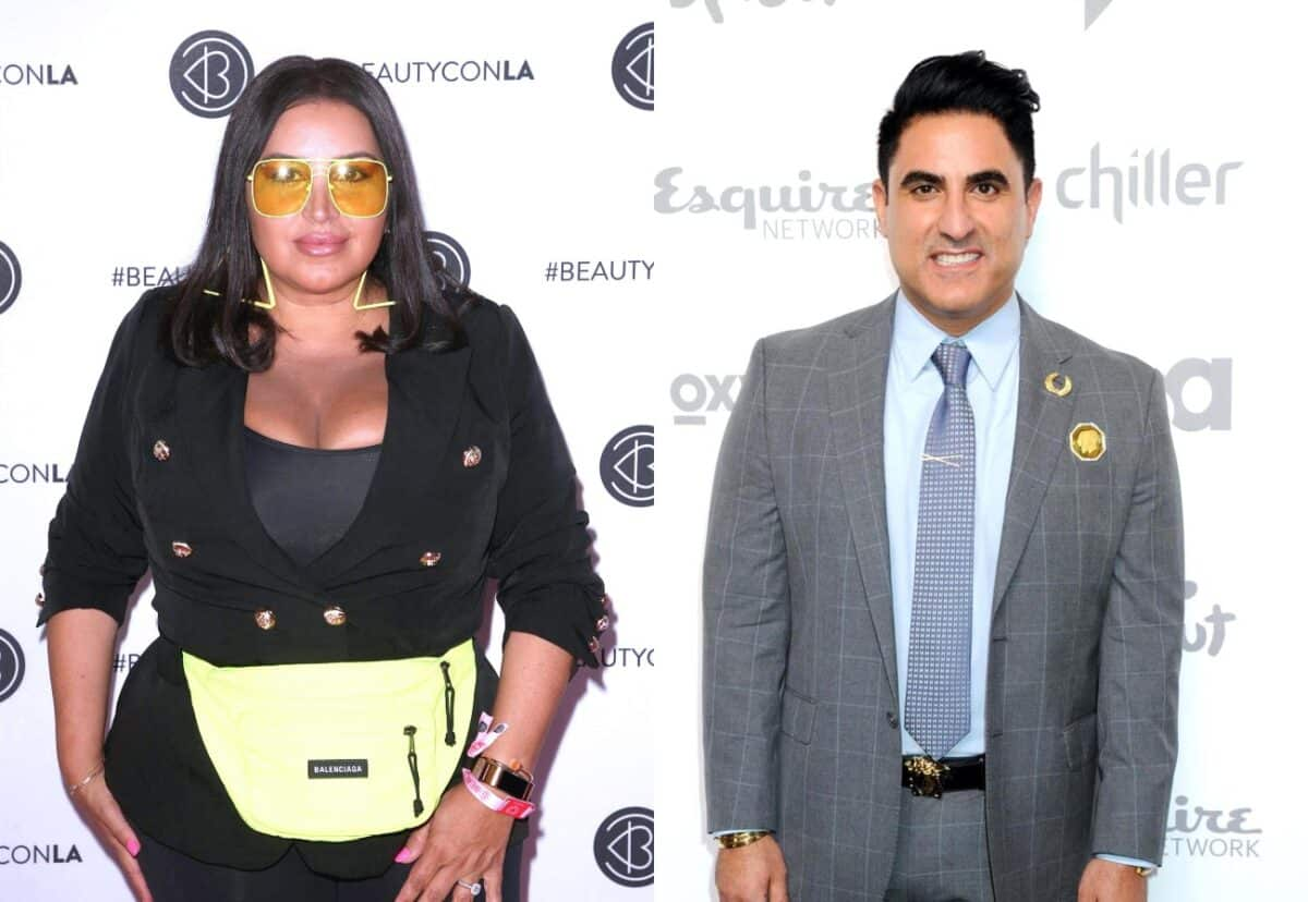 Shahs of Sunset's Mercedes 'MJ' Javid Says She Feels Sorry for 'Thirsty' Reza Farahan