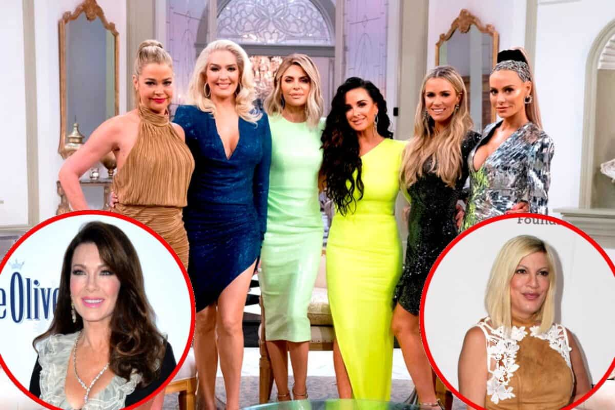 Is the RHOBH Cast Banned From Talking About Lisa Vanderpump? Plus Erika Jayne Addresses Tori Spelling Possibly Joining Show