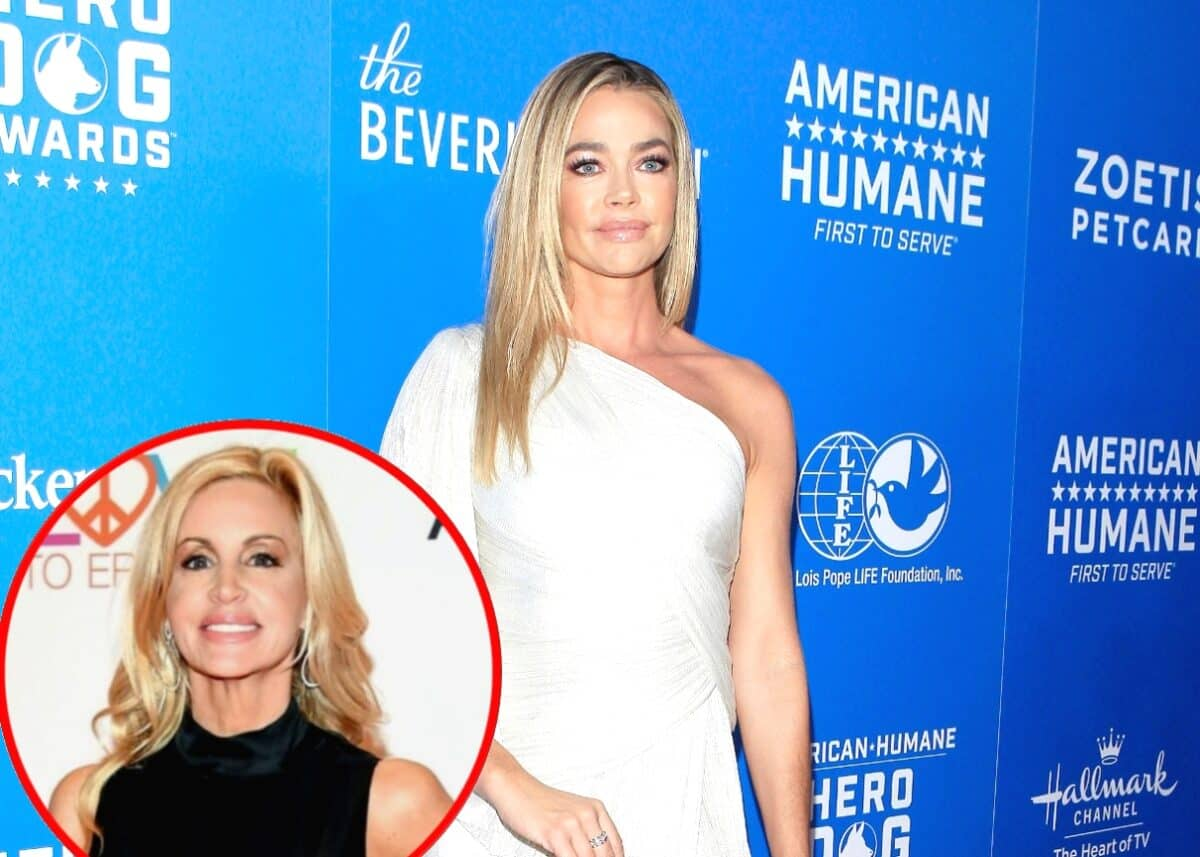 Where Does RHOBH's Denise Richards Stand With Camille Grammer Since Explosive Reunion?