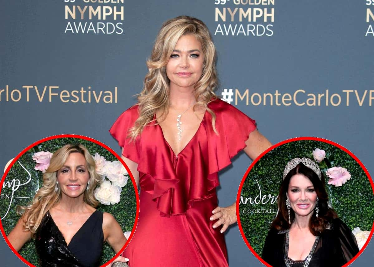 Denise Richards Suggests Camille Grammer Made 'Offensive' Racial Comments at RHOBH Reunion