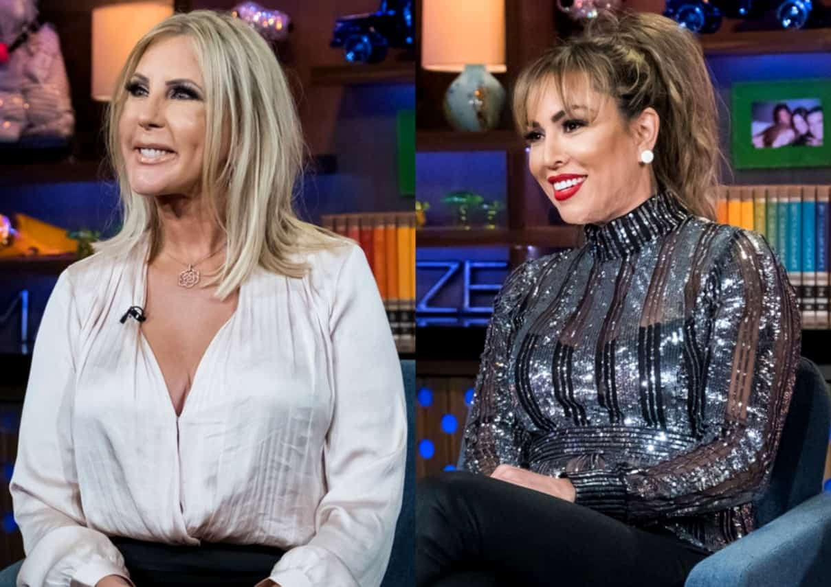 RHOC Star Vicki Gunvalson Denies Telling Anyone About the Kelly Dodd 'Train' Rumor, Rejects Kelly's Claims That She 'Cons People' and Says She's the One Who Got Conned