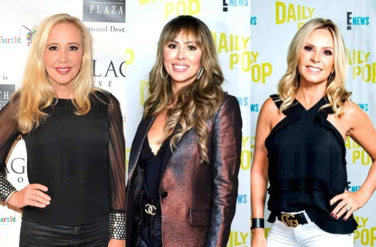 "RHOC's Shannon Beador and Tamra Judge Fire Back at Fans Who Feel They Overreacted to Kelly Dodd's Hit as Tamra Claims Kelly ""Smacks Someone Else"" in New Episode"