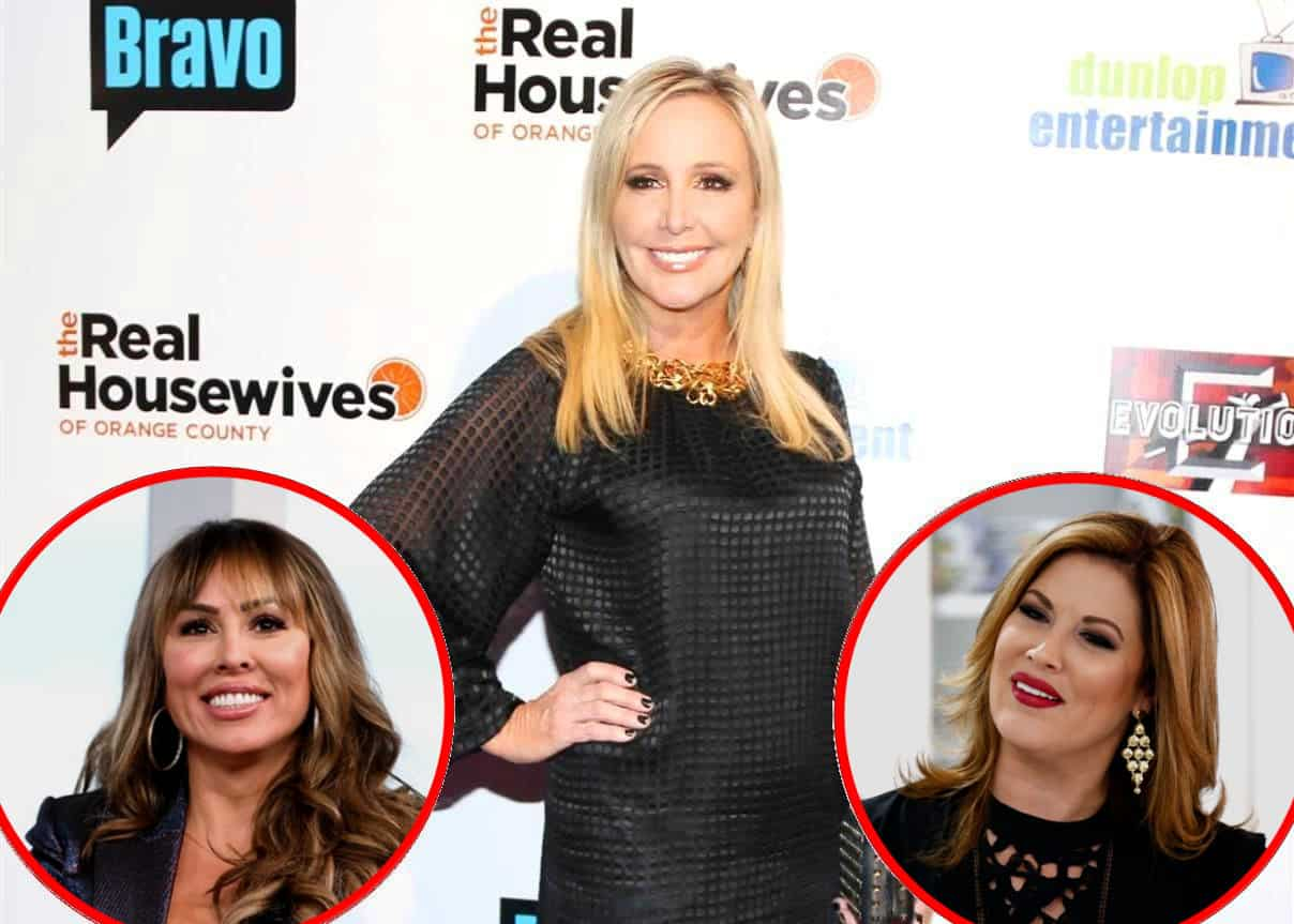 Shannon Beador Reveals if RHOC Cast's Been Told Who's Returning Next Season, Offers Update on Relationships With Kelly and Emily as She Admits She Wouldn't Mind if 'Few' of Costars Were Fired